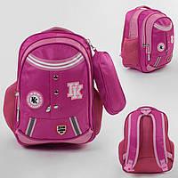 Рюкзак (портфель) детский школьный 43513, 1 отделение, 4 кармана, мягкая спинка, пенал
