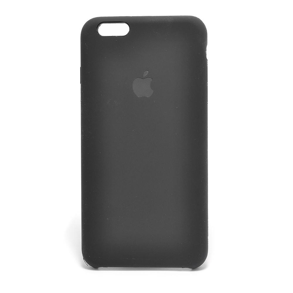 Чехол для iPhone 6+/6S+ силиконовый Black Silicone Case