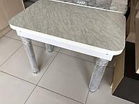 Стіл кухонний без шухляди на хром-ногах, фото 1