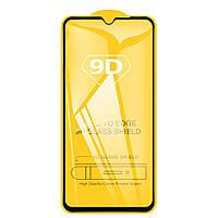 Защитное стекло TDG 9D для Tecno Spark 4 Lite Full Glue черный 0,26 мм в упаковке