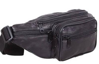 Кожаные сумки на пояс Косухи на плечо Польша