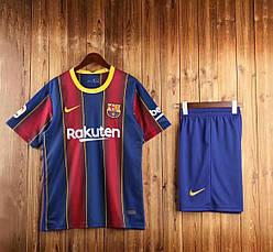 Футбольная форма 20/21 Барселона Barcelona домашняя 2020-21