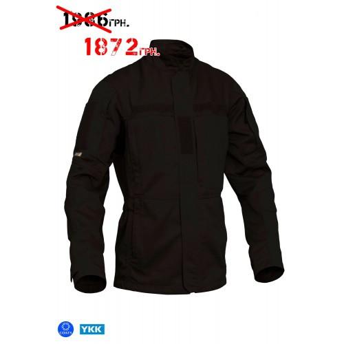 """Куртка-китель полевая """"PCJ- LW """"(Punisher Combat Jacket-Light Weight) - Moleskin 2.0, [1149] Combat Black"""