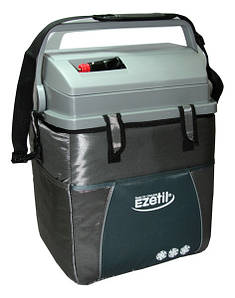 Переносной автохолодильник Ezetil E21 12V ESC 20 л. с индикатором(Черный)