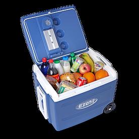 Вместительный Автохолодильник Ezetil E40 M 12/230V (Синий)