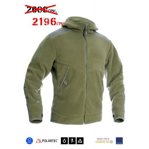 """Куртка-худи тренировочная полевая """"FRWJ-Polartec"""" (Frogman Range Workout Jacket Polartec 200), [1270] Olive Drab"""