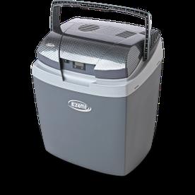 Практичный переносной автохолодильник Ezetil E3000 12/24/230 AES+LCD на 25 л. С дисплеем (Серый)