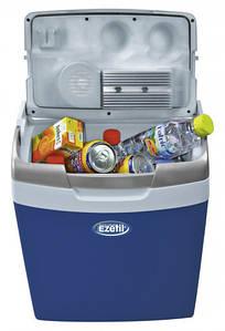 Переносной автохолодильник Ezetil E26 M 12/230 на 26л. Термоэлеткрический (Синий)