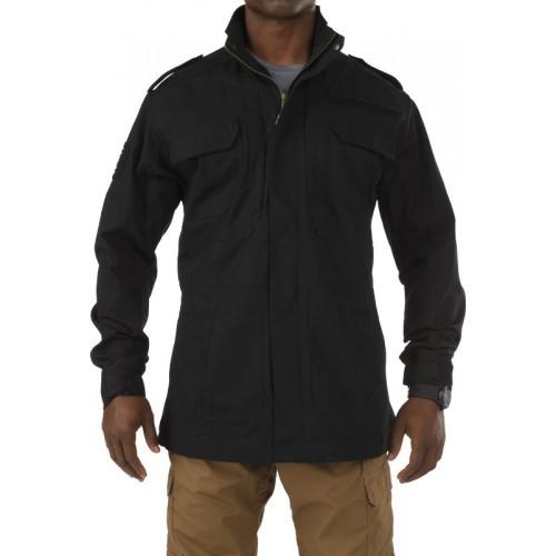 """Куртка тактическая демисезонная """"5.11 TACLITE M-65 JACKET"""", [019] Black"""