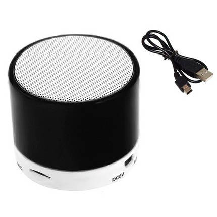 Колонка портативная Bluetooth мини S10, USB MicroSD, фото 2
