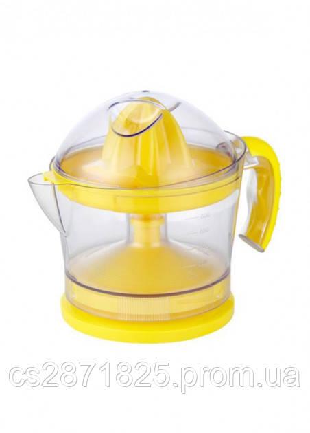 СОКОВИЖИМАЛКА для цитрусових GJO800 30 Вт, об'єм 800мл, колір жовтий GRUNHELM