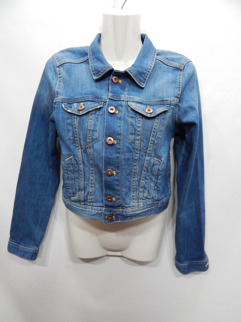 Куртка джинсовая женская DIVIDED Vintage, RUS р.42-44, EUR 34 031DG
