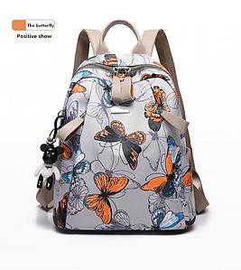 Жіноча молодіжна сумка рюкзак HiFlash метелик