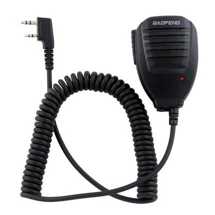 Тангента, микрофон, манипулятор для рации BAOFENG KENWOOD HYT WOUXUN TG-01, фото 2