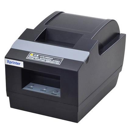 Термопринтер, POS, чековый принтер с автообрезкой Xprinter XP-Q90EC 58мм, фото 2