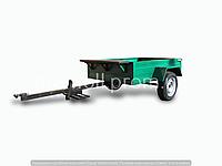 Прицеп к мотоблоку АМС-400-01 (1,7х1,17 м, без колес, жигулевская ступица)