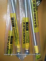 """Шланг нержавійка(олівець) для підключення газу Sandi-Flex 1/2""""гш 60см, фото 1"""