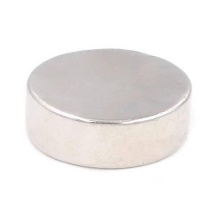 Магнит неодимовый дисковый 30x10мм N35 сильный, фото 2