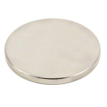 Магнит неодимовый дисковый 50x5мм N35 сильный, фото 2