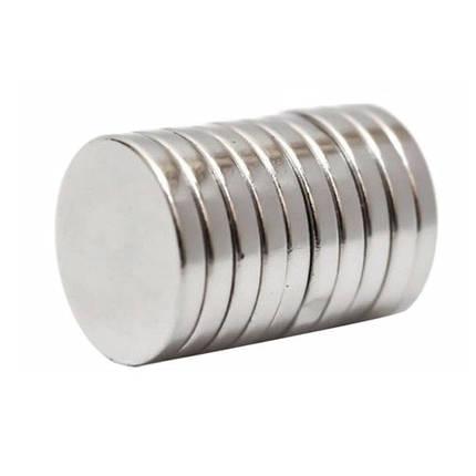 Магниты неодимовые сильные 10x2мм N35 10шт, фото 2