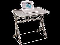 Рабочий стол B-120 Signal 80x51 столешница МДФ, цвет: белый / алюминиевая рама