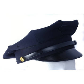 Кашкет поліцейська US POLICE VISOR HAT, [728] Navy