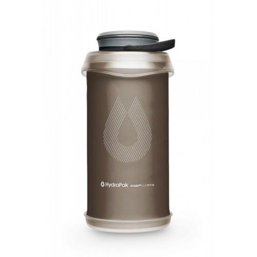 "Мягкая фляга-бутылка ""HydraPak Stash Mammoth Grey 1 л"", [029] Grey"