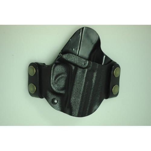 Кобура пластиковая быстросъемная поясная (ПМ, ФОРТ12, ФОРТ17), [019] Black