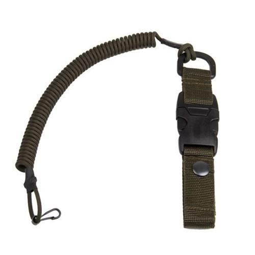 Страховочный тренчик с карабином быстросъемный, army green, [1126] Army green
