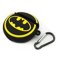 Чехол для Airpods Toys Силиконовый Batman жёлтый