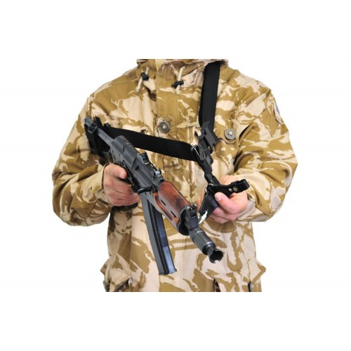 Ремень оружейный автоматный (трёхточечный), [019] Black