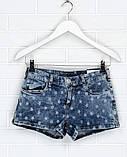Шикарні джинсові шорти для дівчинки від C&A, Німеччина, розмір 164 см, фото 2