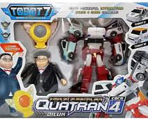 Трансформер Кватран Q1907 Тобот Tobot Quatran с героями