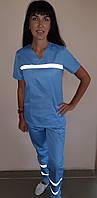 Форма женская для Скорой помощи ткань коттон короткий рукав, фото 1