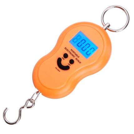 Весы электронные безмен кантер до 40кг, точность 10г Smile, фото 2