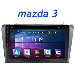 Штатная магнитола Mazda 3 (2004-2009) Android