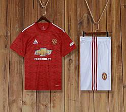 Футбольная форма Манчестер Юнайтед Manchester United 2020-21 домашняя