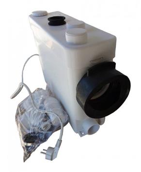 Канализационная станция сололифт Euroaqua MP-400-II для санузлов 0.4кВт Hmax6.5м Qmax100л/мин (боковой)
