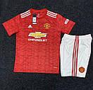 Футбольная форма Манчестер Юнайтед Manchester United 2020-21 домашняя, фото 3