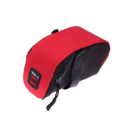 Подседельная сумка, велосумка под седло B-Soul, фото 2