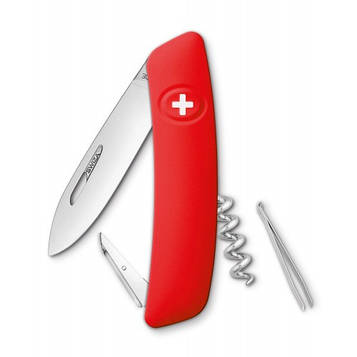 Нож Swiza D01, красный, [999] Multi