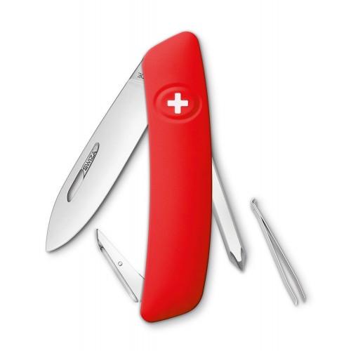 Нож Swiza D02, красный, [999] Multi