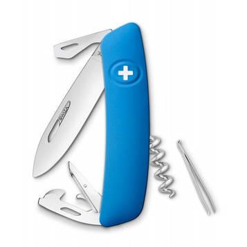 Нож Swiza D03, голубой, [999] Multi