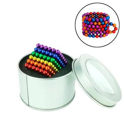 Неокуб конструктор головоломка магнитные шарики, цветной, фото 2