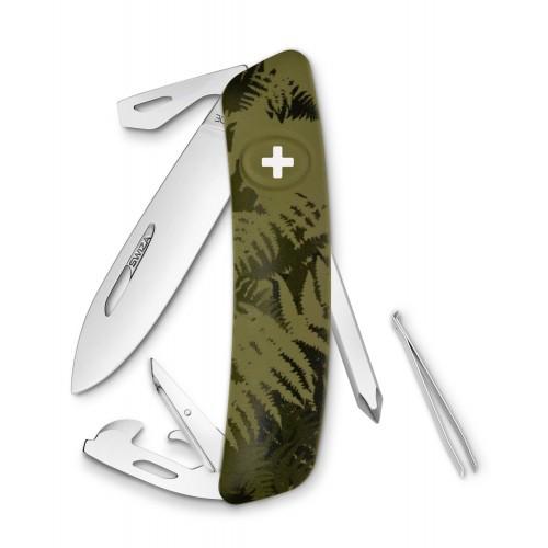 Нож Swiza C04, olive fern, [999] Multi