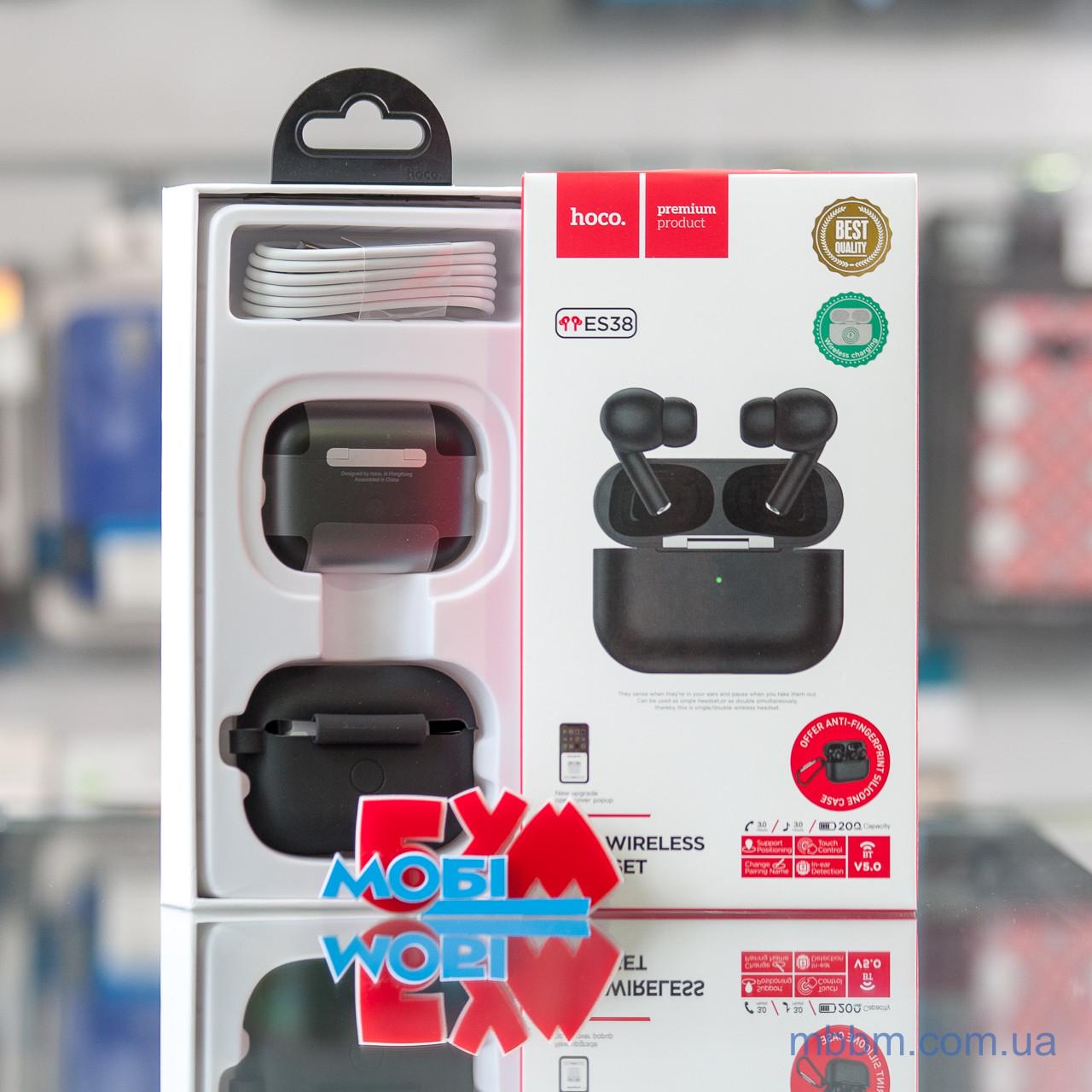 Беспроводные наушники Bluetooth Hoco ES38 Black [Оригинал] EAN/UPC: 6931474727121