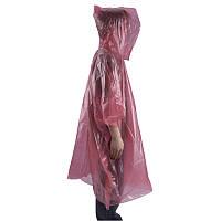AceCamp пончо Emergency Rain Poncho pink