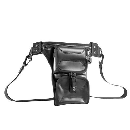 "Сумка-кобура для пистолета ""9TACTICAL Easy Holster Bag ECO Leather"", [019] Black"