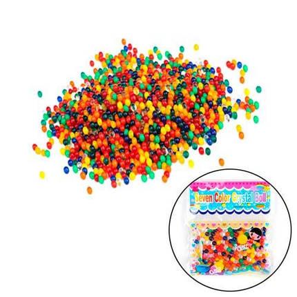 Гидрогель 24шт аквагель цветной гелевый наполнитель Bio Gel, фото 2