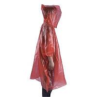 AceCamp пончо Emergency Rain Poncho red